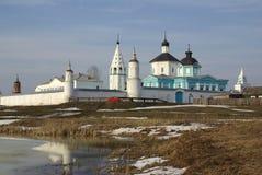 Monasterio ortodoxo ruso de Bobrenev en Kolomna Fotografía de archivo