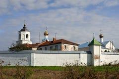 Monasterio ortodoxo ruso viejo Foto de archivo libre de regalías