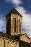 Monasterio ortodoxo servio Imagen de archivo libre de regalías