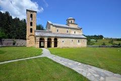 Monasterio ortodoxo servio Sopocani Foto de archivo
