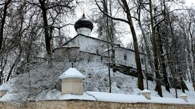 Monasterio ortodoxo Svyatogorsk foto de archivo