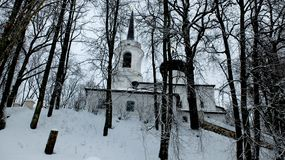 Monasterio ortodoxo Svyatogorsk fotografía de archivo libre de regalías