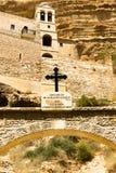 Monasterio patriarcal de San Jorge, desierto de Judean Foto de archivo libre de regalías