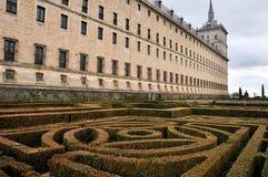 Monasterio real de San Lorenzo de El Escorial, Madrid Foto de archivo libre de regalías