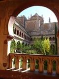Monasterio real de Santa María de Guadalupe Foto de archivo libre de regalías