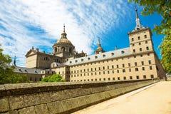 Monasterio real, EL Escorial cerca de Madrid fotografía de archivo libre de regalías
