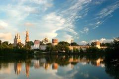 Monasterio ruso de la ortodoxia Fotos de archivo libres de regalías