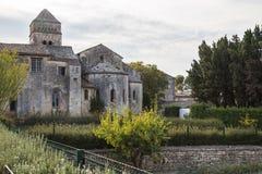 Monasterio Saint Paul en el santo Remy, Provence imagen de archivo libre de regalías