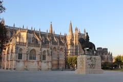 Monasterio Santa María DA Vitoria, Batalha Portugal Imagenes de archivo