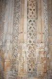 Monasterio Santa María DA Vitoria, Batalha Portugal Imágenes de archivo libres de regalías