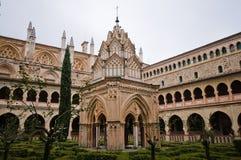 Monasterio Santa María de Guadalupe. Caceres, España Fotos de archivo libres de regalías