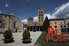Monasterio Santa Maria Ripoll Fotografía de archivo