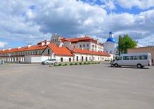 Monasterio santo de Dormition en Zhirovichi belarus Imagenes de archivo