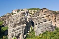 Monasterio santo de gran Meteoron. Meteora Imagen de archivo libre de regalías