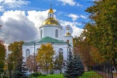 Monasterio santo de la epifanía en Polotsk fotos de archivo