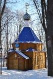 Monasterio teológico de Johns - la República de Mordovia Foto de archivo libre de regalías