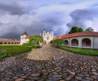 monasterio TytvÄ-nai Fotografía de archivo