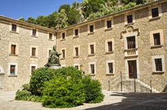 Monasterio viejo en Mallorca Imagenes de archivo