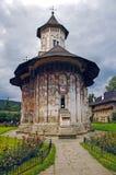 Monasterio Voronet Imágenes de archivo libres de regalías