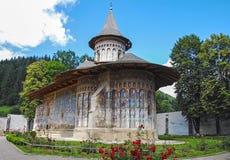 Monasterio Voronet Imagenes de archivo