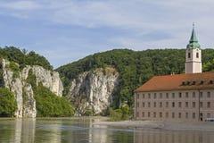 Monasterio Weltenburg Fotografía de archivo