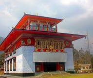 Monasterio y x22; El Rumtek viejo Gompa& x22; , cerca de Gangtok, Sikkim fotos de archivo libres de regalías