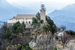 Monasterio y santuario de Queralt españa Fotografía de archivo