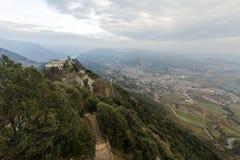 Monasterio y santuario de Queralt españa Imagen de archivo