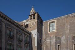 Monasterio y St benedictinos Nicholas Arena Church Fotos de archivo libres de regalías