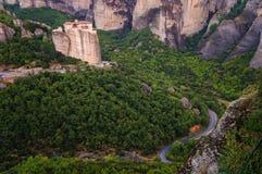 Monasterios 3 de Meteora Fotografía de archivo libre de regalías