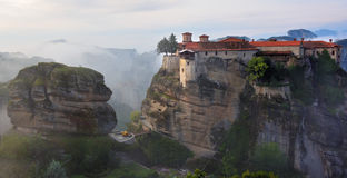 Monasterios de Meteora Grecia Fotos de archivo libres de regalías
