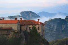 Monasterios de Meteora Grecia Imagen de archivo