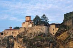 Monasterios de Meteora Grecia Imágenes de archivo libres de regalías