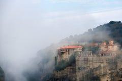 Monasterios de Meteora Grecia Foto de archivo libre de regalías