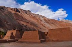 Monasterios en montañas Imagen de archivo libre de regalías