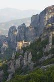 Monastero ad alba Immagini Stock Libere da Diritti