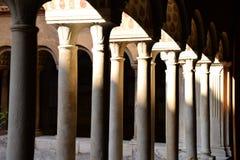 Monastero Agostiniano Quattro Coronati, Rome, Italië Royalty-vrije Stock Fotografie