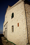 Monastero al supporto Pantokrator, Corfù, Grecia Fotografie Stock