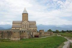 Monastero Alawerdi, Kakheti, Georgia, Europa Fotografia Stock Libera da Diritti