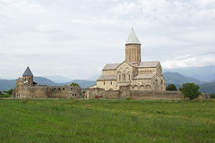 Monastero Alawerdi, Kakheti, Georgia, Europa Fotografia Stock