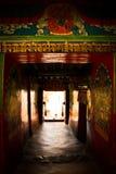 Monastero Allyway Shigaste Tibet di Tashilompu Fotografia Stock Libera da Diritti