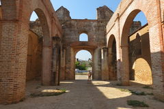 Monastero antico nel Messico Immagine Stock