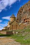 Monastero in Armenia Fotografie Stock Libere da Diritti