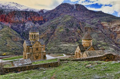 Monastero in Armenia Fotografie Stock
