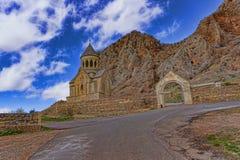 Monastero in Armenia Fotografia Stock Libera da Diritti