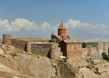 Monastero Armenia di Khor Virap fotografia stock libera da diritti