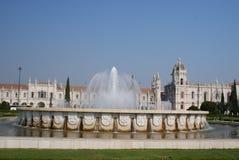 Monastero a Belem Fotografie Stock