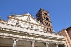 Monastero Benedettine S cecilia arkivbild