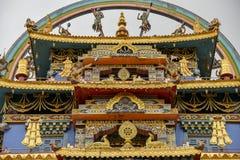 Monastero buddista Fotografia Stock Libera da Diritti
