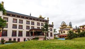 Monastero buddista Immagini Stock Libere da Diritti
